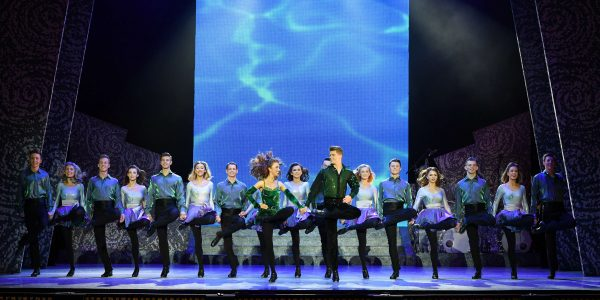 Riverdance Troupe on stage